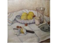 Stilleven met citroenen 1935