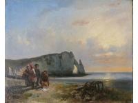 Pecheurs en Normandie