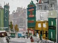 Parijs straatgezicht 1921
