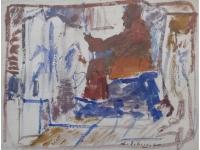 """z-  """"Schilder in atelier"""""""