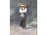 Italiaans meisje met fruitmand