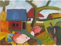 varkens op de boerderij