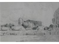 z-  Gezicht op ANLO 1930 tekening