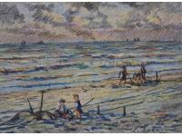 z- Spelen op het strand van Scheveningen