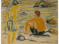 z- Zonnebaden op het stand van carpi 1928