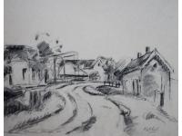 z- Kethel, dorpsgezicht 1940